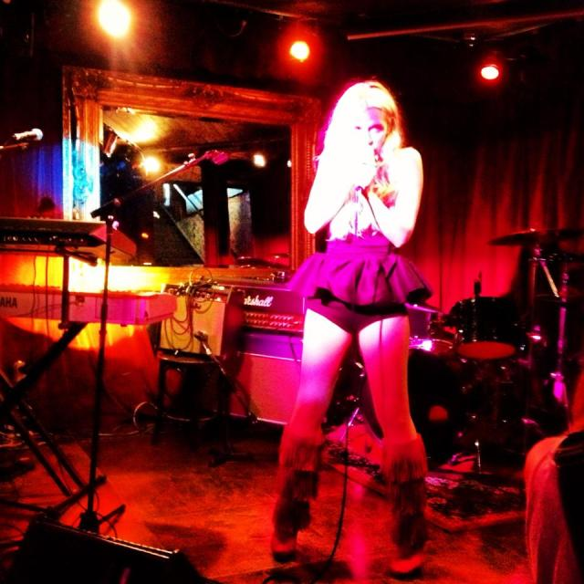 DOLLS xx Live performance The Underbelly London Hoxton DOLLSxx Music Synthpop