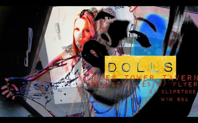 DOLLS SYNTHPOP LIVE AT TOWER TAVERN LONDON UK MUSIC INDIE