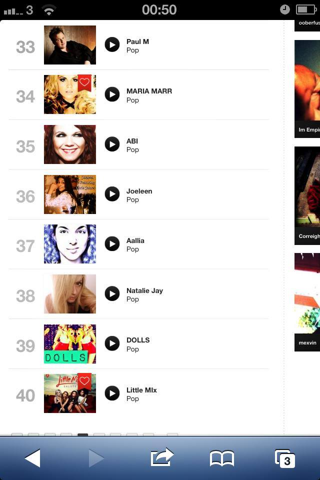 DOLLS THRASHES LITTLE MIX IN THE REVERBNATION POP CHARTS FOR LONDON UK