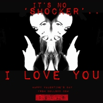 DOLLS Valentines - It's No Shocker
