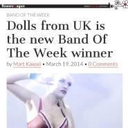 DOLLS Flowers In a Gun - UK Band