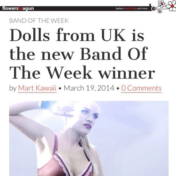 DOLLS Flowers In a Gun - UK Band