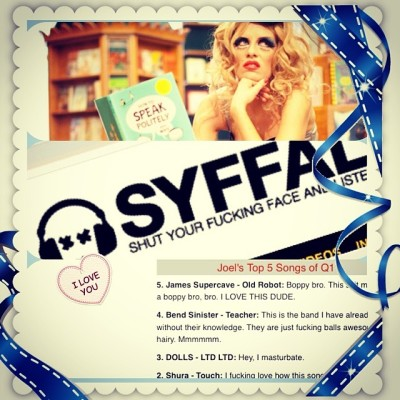 "DOLLS ""limited Ltd"" named one of the top 5 of the first quarter on SYFFAL.com"