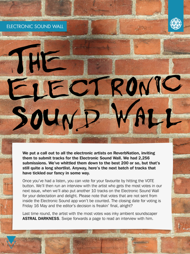DOLLS in Electronic Sound Magazine issue #6 SOund wall