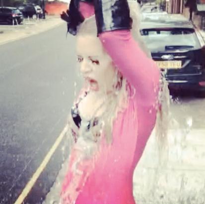 DOLLS #ALSIceBucketChallenge Splash